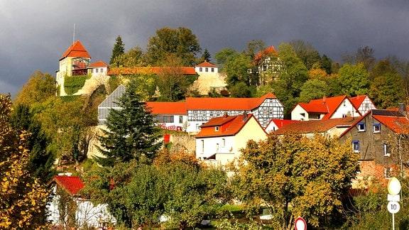 Mittelalterliche Creuzburg in Thüringen