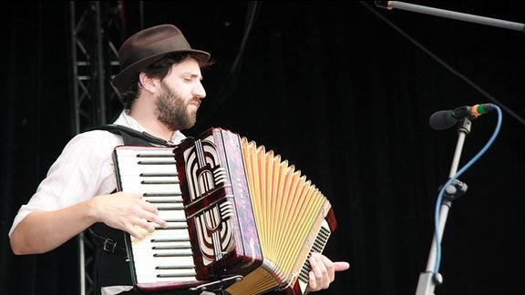 Daniel Kahn beim TFF Rudolstadt
