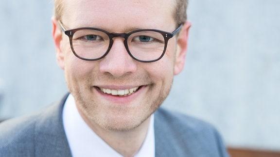 Daniel Morgenroth, der neue Intendant des Gerhart-Hauptmann-Theaters Görlitz-Zittau