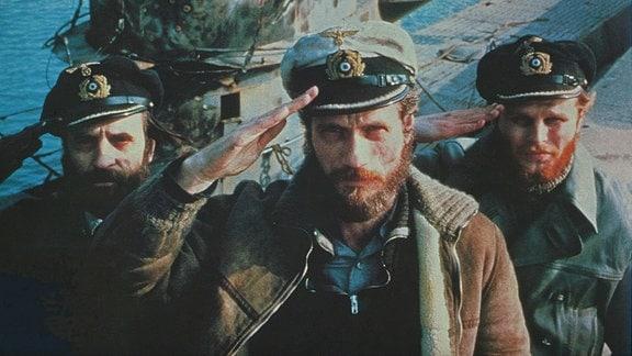 (v. l.) Klaus Wennemann, Jürgen Prochnow, Herbert Grönemeyer