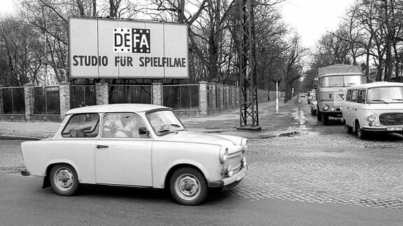 DEFA-Studio für Spielfilme in Potsdam Babelsberg 1990