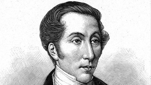 Portrait von Carl Maria von Weber