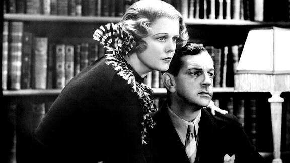 """""""Der Mann, der zuviel wusste"""" von 1934 mit Edna Best"""