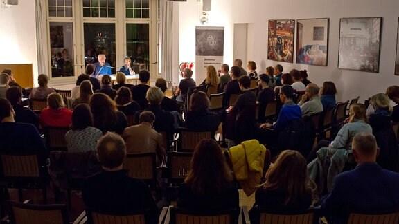 Lesung im Deutschen Literaturinstitut Leipzig 2019
