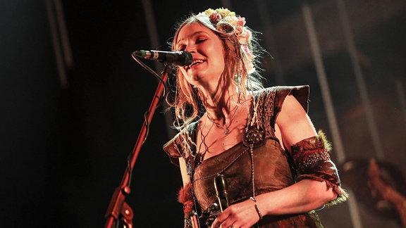 Faun bei einem Konzert, 2017