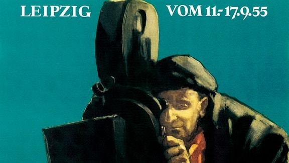 DOK Leipzig Plakat 1955