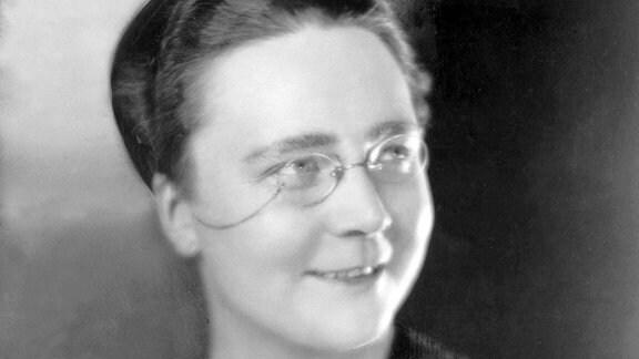 Die englische Schriftstellerin Dorothy L. Sayers, 1893-1957