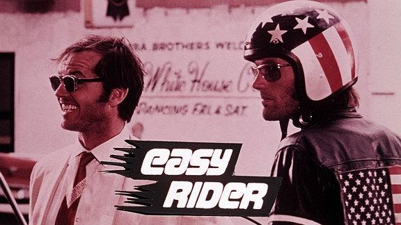 Jack Nicholson und Peter Fonda