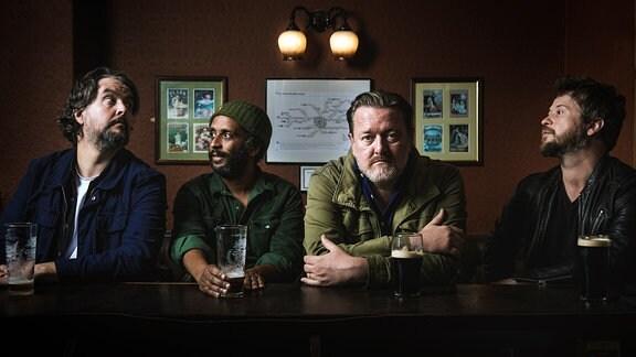 """Die vier Musiker der Band """"Elbow"""""""