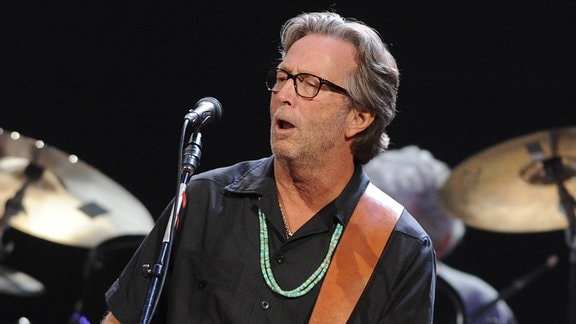 Eric Clapton in der Royal Albert Hall in London