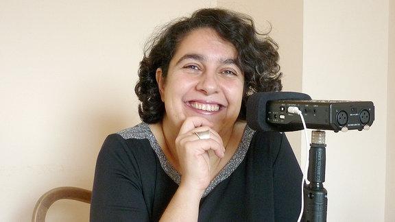 Schriftstellerin und Sozialarbeiterin Mehrnousch Zaeri-Esfahani.