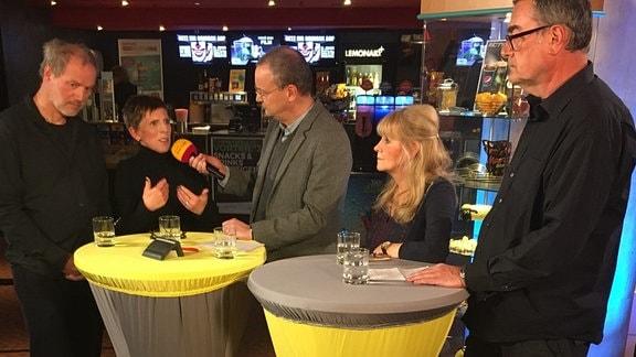 Gundermann Revier - Filmgespräch mit Knut Elstermann, Grit Lemke, Uwe Mann, Ronald Galenza, Conny Gundermann