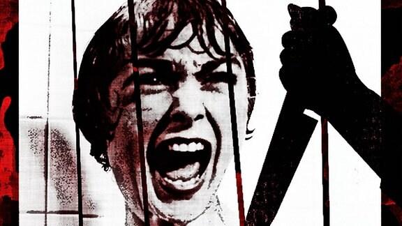 Filmplakat zum Film ''Psycho'' von Alfred Hitchcock.