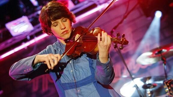 Violinistin Hanmari Spiegel (Fjarill)