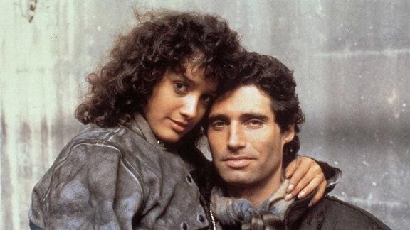 Jennifer Beals und Michael Nouri in Flashdance