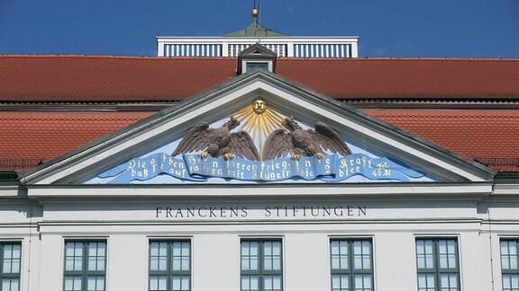 Aussenansicht Haupthaus Franckesche Stiftungen