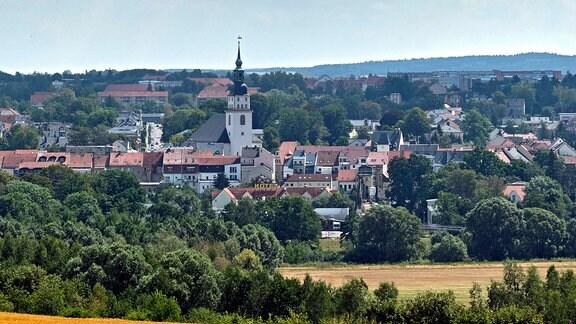 Ansicht der Stadt Frankenberg