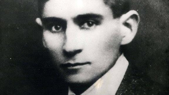 Franz Kafka als junger Mann