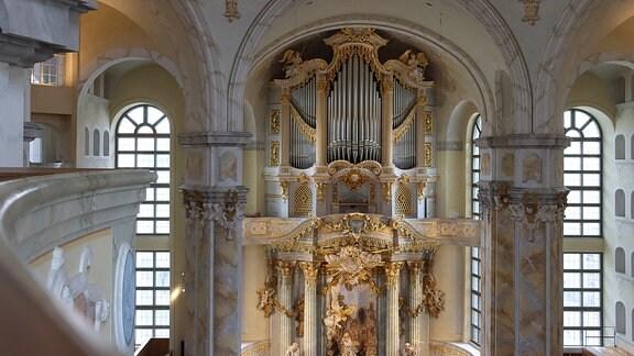 Innenansicht Frauenkirche Dresden