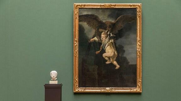 Ganymed in den Fängen des Adlers.