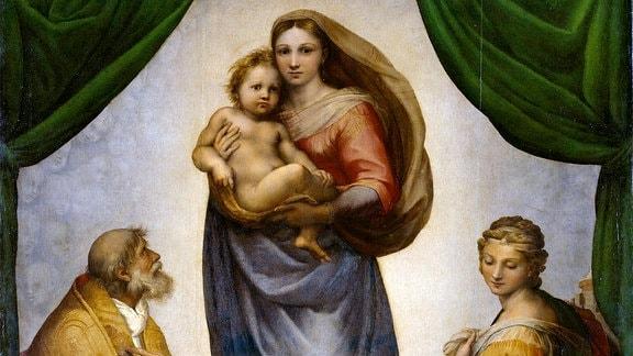 Die Sixtinische Madonna.