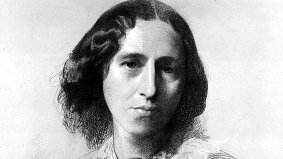 George Eliot, circa 1860