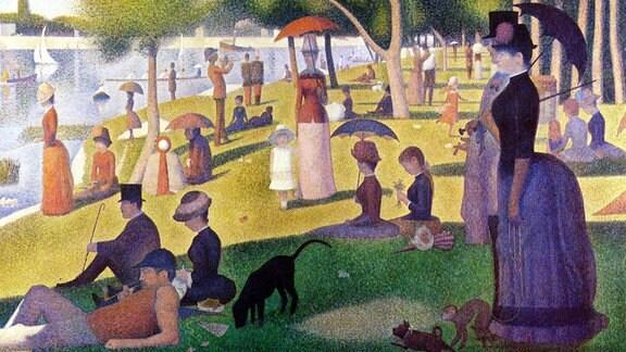 Georges Seurat, Ein Sonntagnachmittag auf der Insel La Grande Jatte