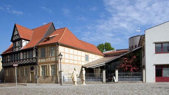 Das Literaturmuseum Gleimhaus in Halberstadt