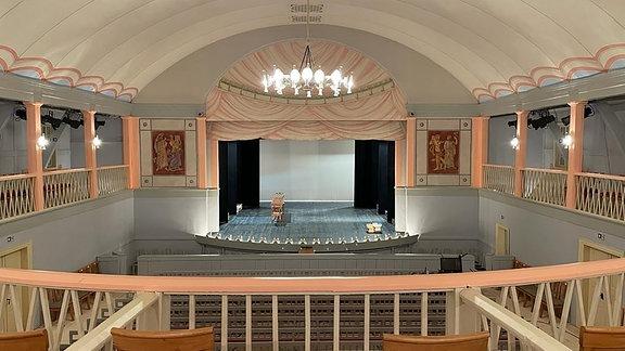 Goethe-Theater in Bad Lauchstädt mit neuem Himmelszelt