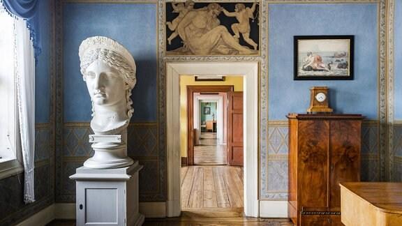 Juno-Zimmer und Durchgang in Goethes Wohnhaus