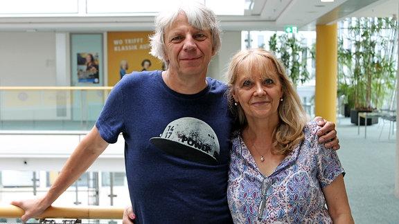 Conny Gundermann und Andreas Dresen
