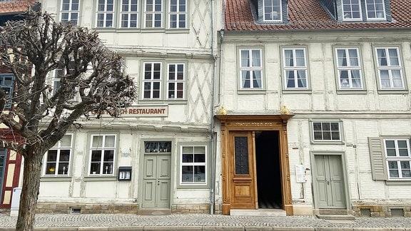 Fachwerkhäuser in Halberstadt