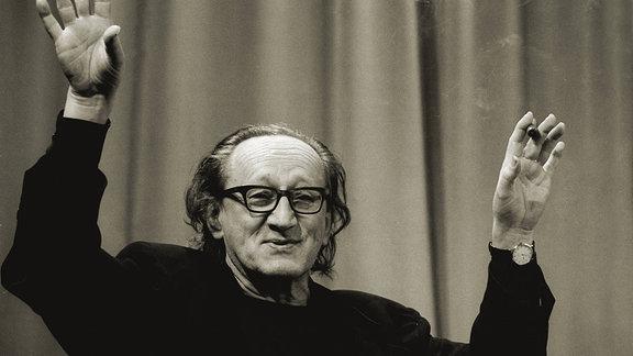 Heiner Müller in der Literaturwerkstatt Berlin