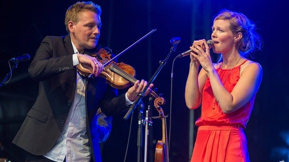Helene Blum und Harald Haugaard, 2016