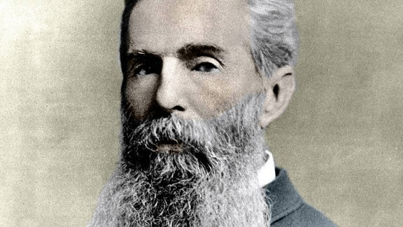 Zeitgenössisches Porträt von Herman Melville (1819 -1891)