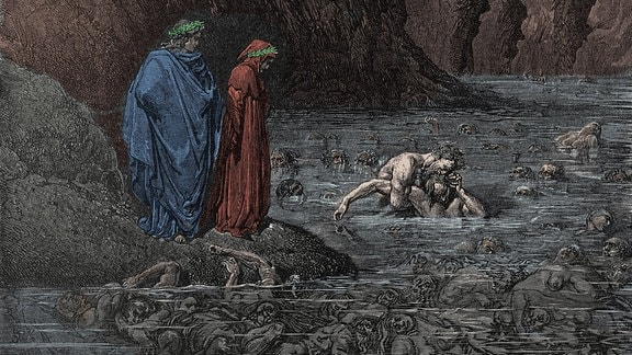 'Die Göttliche Komödie', Illustration von Gustave Dore