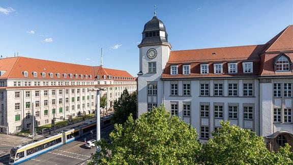 Geutebrück-Bau der HTWK Leipzig