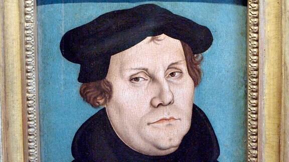 Martin Luther, Gemälde Lucas Cranach