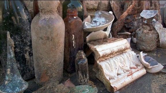 Archäologische Funde aus der Bombennacht