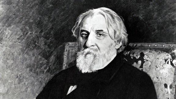 Der russische Schriftsteller Iwan Turgenjew.