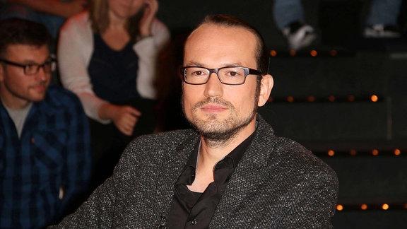 Jan Mohnhaupt sitzt im Jahr 2017 als Gast in der ZDF-Talkshow von Markus Lanz.
