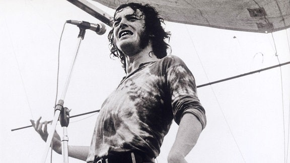 Joe Cocker in Woodstock USA 1969.