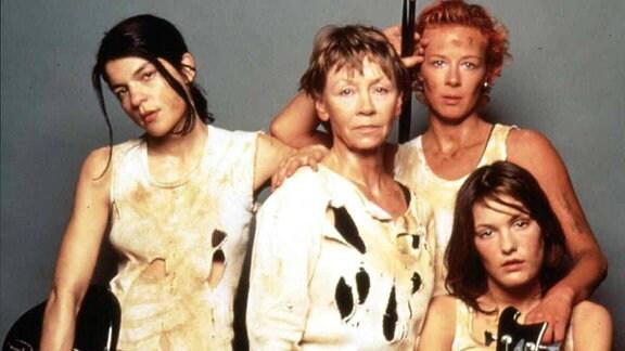 Jasmin Tabatabai, Jutta Hoffmann, Katja Riemann und Nicolette Krebitz