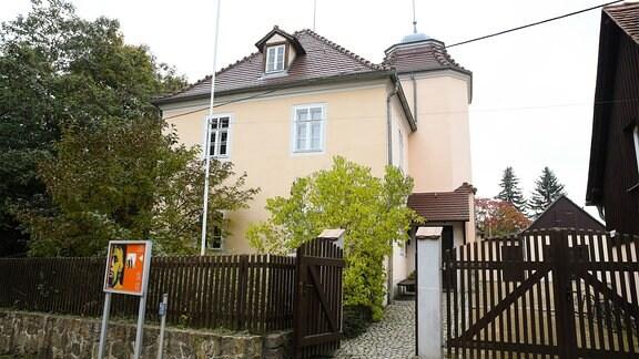 Das Käthe Kollwitz Haus Gemeinde Moritzburg nahe Dresden.