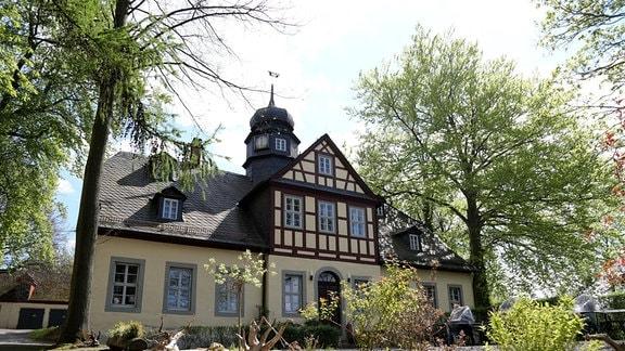 Revierhaus des Bergwerks Kamsdorf