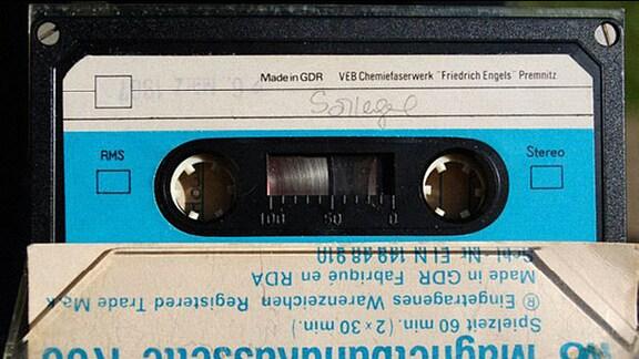 Kassette aus dem Kombinat VEB Filmfabrik Wolfen