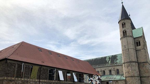 """Das Kunstmuseum """"Kloster unserer lieben Frauen"""" in Magdeburg."""