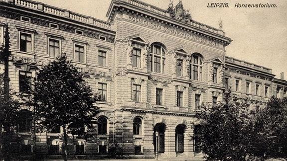 Das Königliche Konservatorium der Musik in Leipzig
