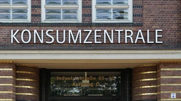 Die Konsumzentrale der Konsumgenossenschaft Leipzig eG