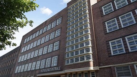Die Konsumzentrale ist ein Bauwerk des Expressionismus im Leipziger Stadtteil Plagwitz und wurde vom Architekten Fritz Höger erbaut.